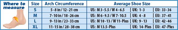 FS6-sizechart