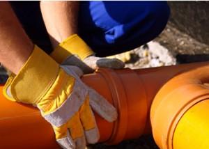 fixing drain pipe London