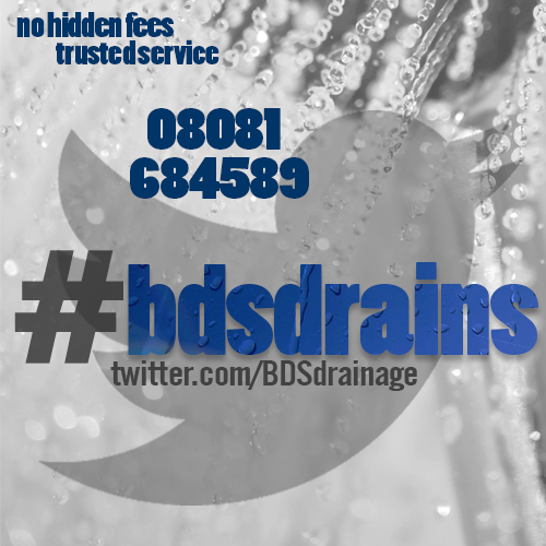twitter BDS official twitter, drainage services, #bdsdrains